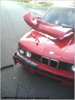 BMW E30 accidents