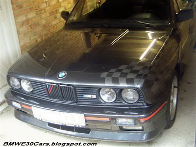 BMW E30 racing Flag