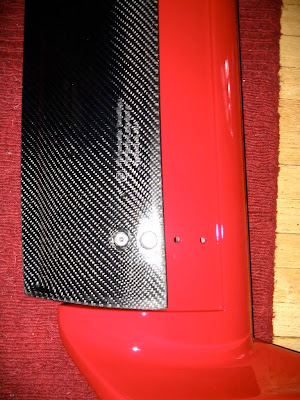 BMW E30 carbon fiber wing