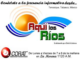 NOTICIERO EN LOS RIOS en 1120 AM