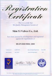Certificate, Shinyi