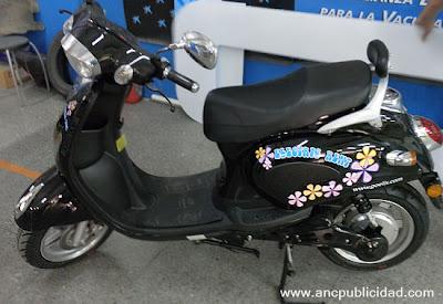 Rotulación de scooter