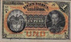 un peso 1895