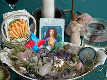 Outdoor Imbolc/Brighid Shrine