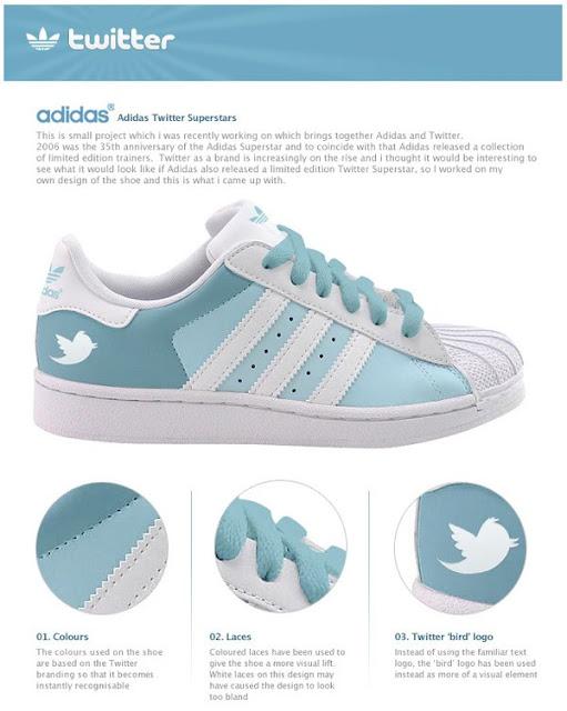 Sepatu Keren Adidas Untuk Pecandu Facebook Dan Twitter [ www.BlogApaAja.com ]
