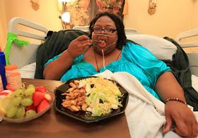 wanita paling gemuk