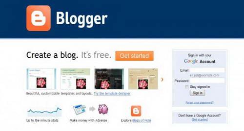 Blogger– Merubah gaya blogging anda