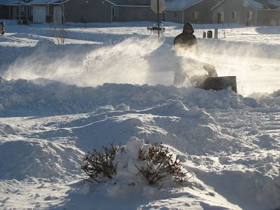 Blowing Snow in Minnesota