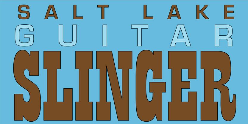 Salt Lake Guitar Slinger