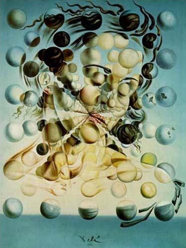 Galarina das Esferas - Salvador Dalí