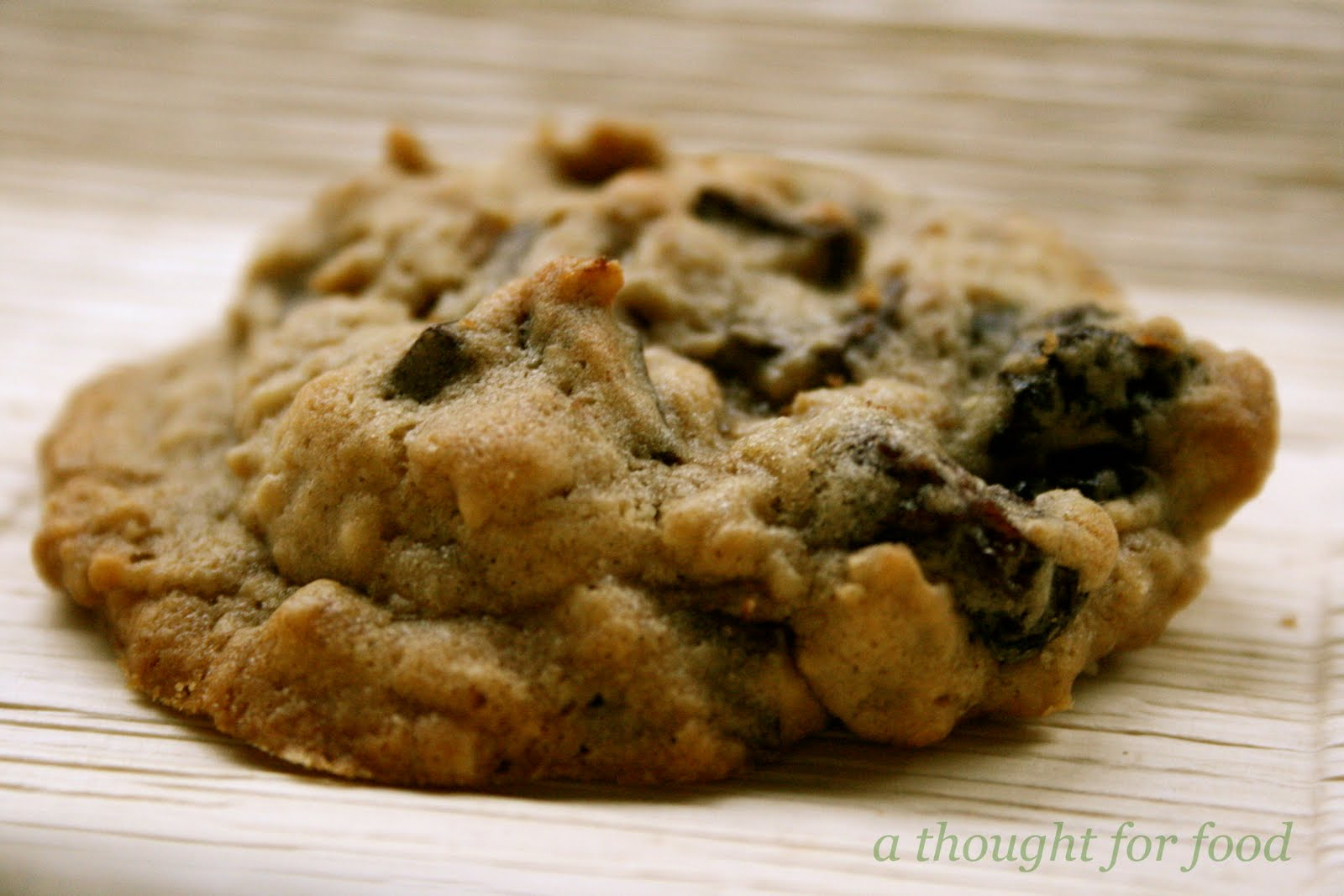 Recipe: Dark Chocolate Chunk and Dried Cherry Oatmeal Cookies » A ...