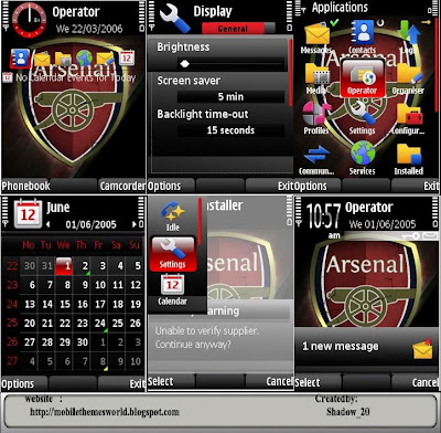 Arsenal logo s60v3