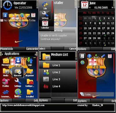 Barcelona s60v3 theme