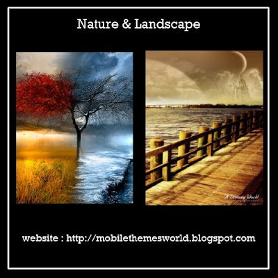 Nature and Landscape Wallpaper for nokia