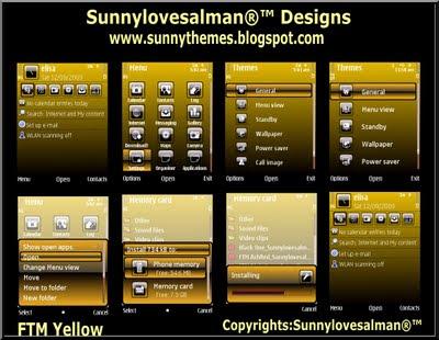 s60v3 theme by Sunny