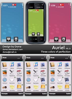 Auriel 1.2 by dsma 5800 theme