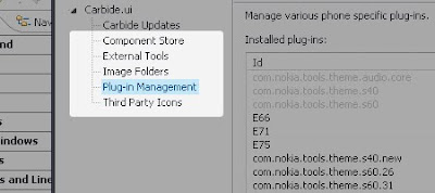 How to Install Plugins for Nokia's Carbide step 2