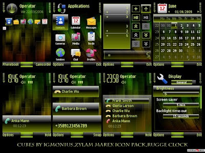 Cube by igmonius s60v3 theme
