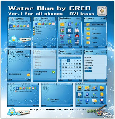 Water Blue by CREO Touch icon