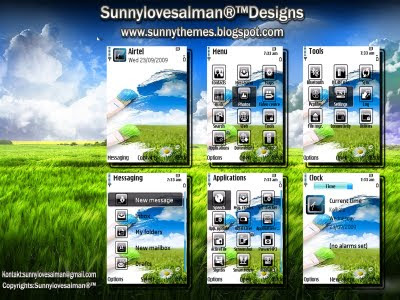Paint D World s60v3 theme by  sunny