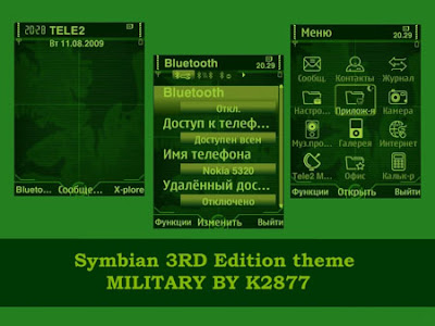 Military by K2877 symbian theme