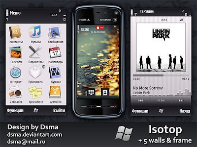 Isotop 5th Edition Theme[N97, 5800xm, X6, 5530 xm, 5230]