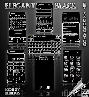Elegant Black By Sauromatum