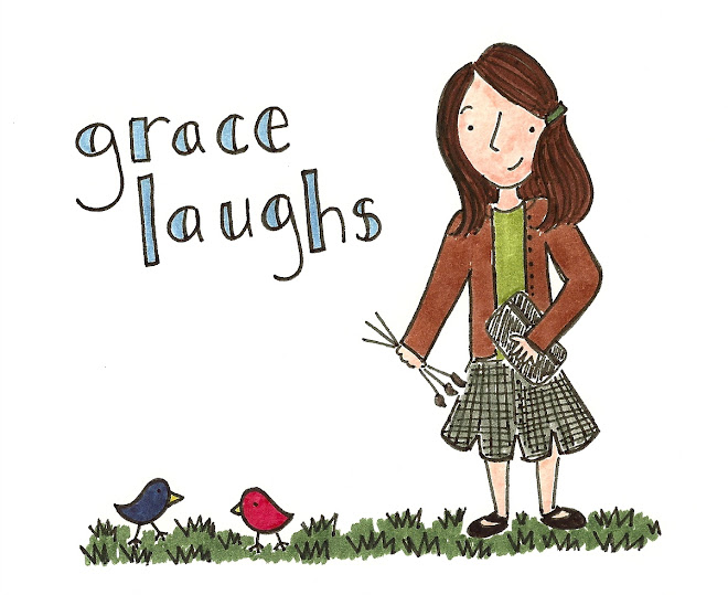 grace laughs