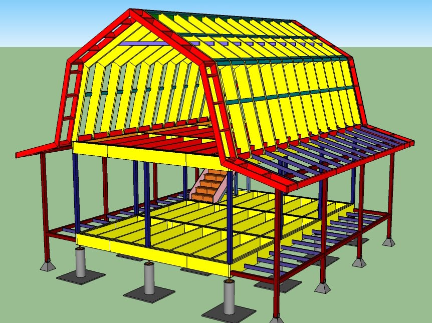 Nale How To Put Up Pole Barn Trusses