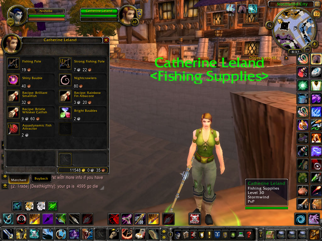 Pictures wow fishing and cooking guide 1 450 alliance for Wow fishing guide