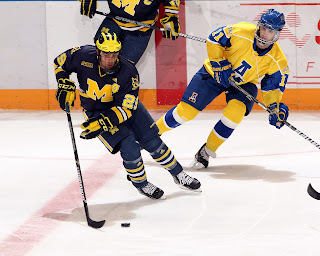 Nanooks Fall To Michigan 2-5