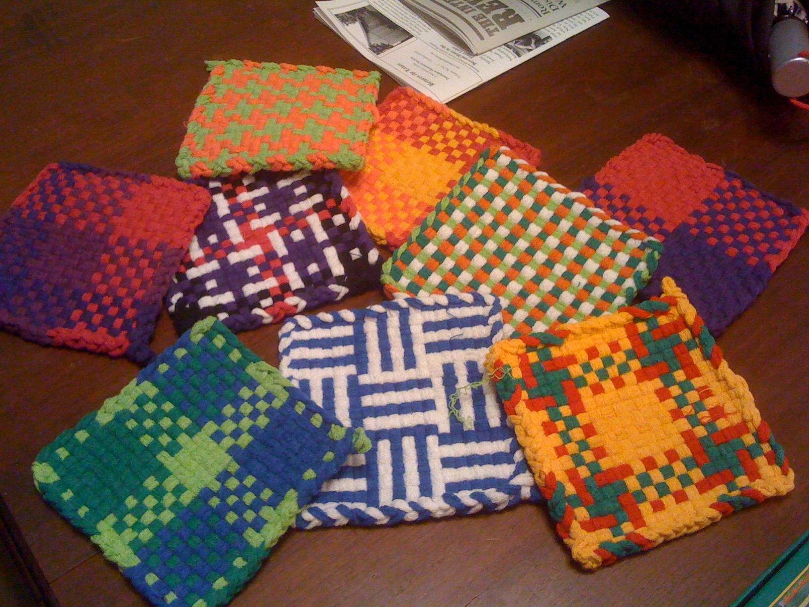 Potholder Loom Patterns Cool Decorating