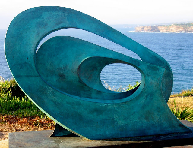 have a nice day!: Sculpture by the sea