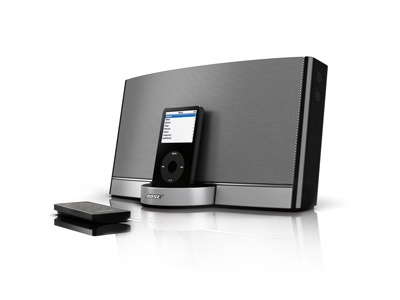 ipod docking station with speakers februari 2011. Black Bedroom Furniture Sets. Home Design Ideas