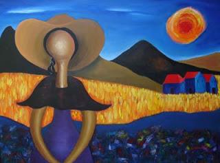 Lluvia en Los Dajaos [Soneto]  Marino+Chanlatte,+pintor+dominicano,+3