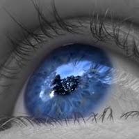 Foto: Olho azul