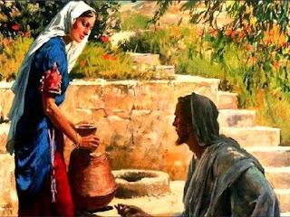 Imagem Jesus e A Mulher Samaritana