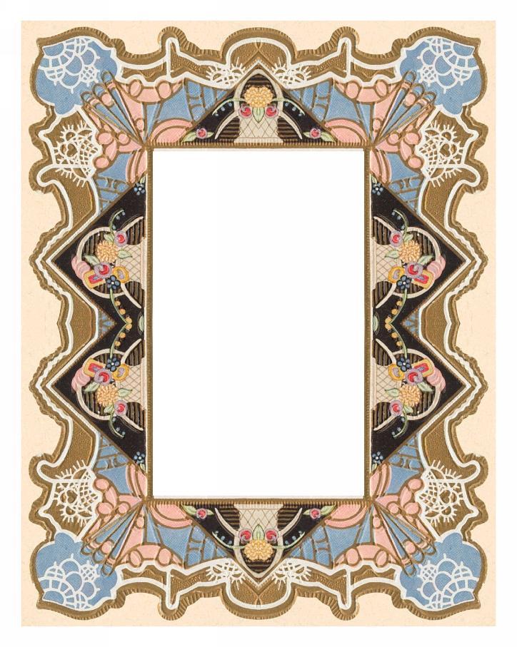 ArtbyJean - Paper Crafts: Scrapbook Prints - Brand New Vintage Frames