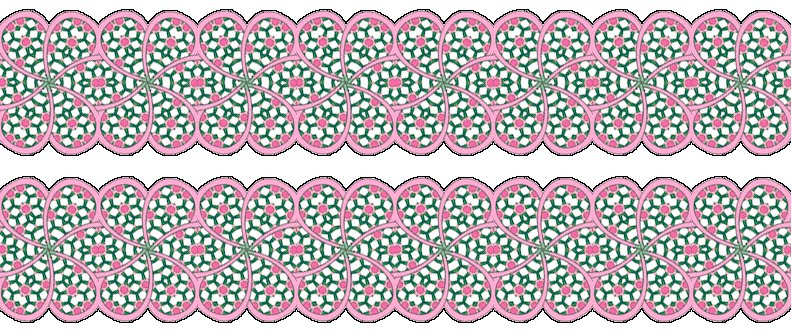 Artbyjean paper crafts scalloped borders for scrapbooking scalloped borders for scrapbooking decoupage greeting cards and other paper crafts m4hsunfo