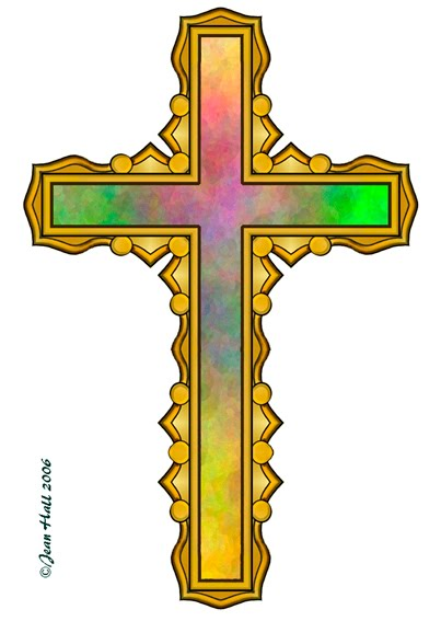 artbyjean easter clip art four rainbow colored crosses on easter rh abj eggs blogspot com clipart crossing guard clip art crosses free religious