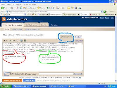 visión en pantalla código modificado