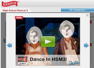 High School Musical 3 JibJab Card