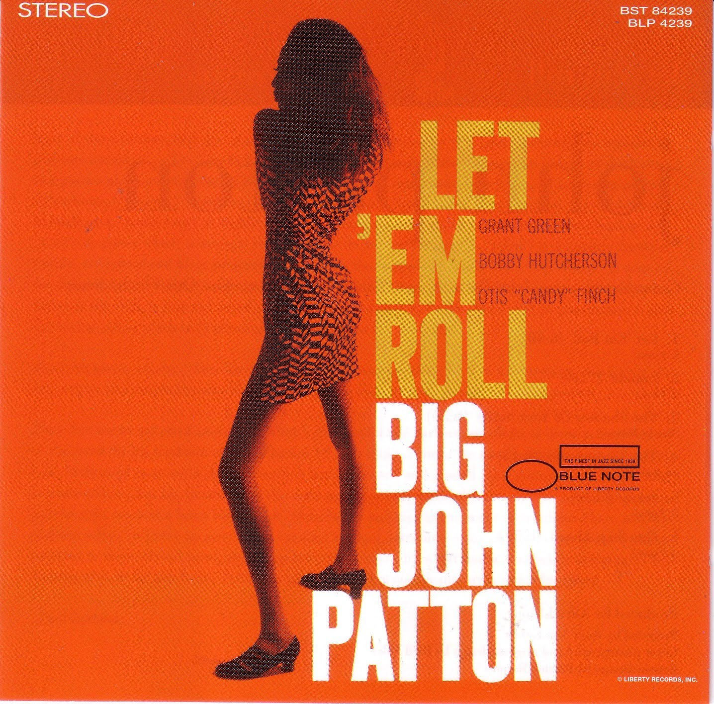 john patton - let 'em roll (sleeve art)