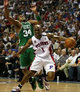 Boston Celtics @ Detroit Pistons