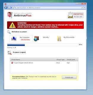onlinewebscan.com AntivirusPlus Template
