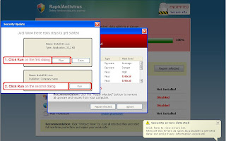 Template RapidAntivirus from onlinescanweb. com
