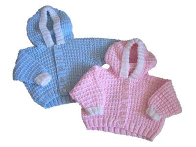 kiz+erkek+kapsonlu+bebek Bebek Kapşonlu Hırka Modelleri