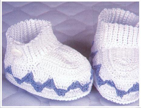 Mavi/Beyaz Bebek Pati�i
