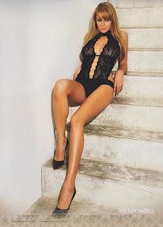 Keeley Hazell official lingerie calendar 2009 calendário