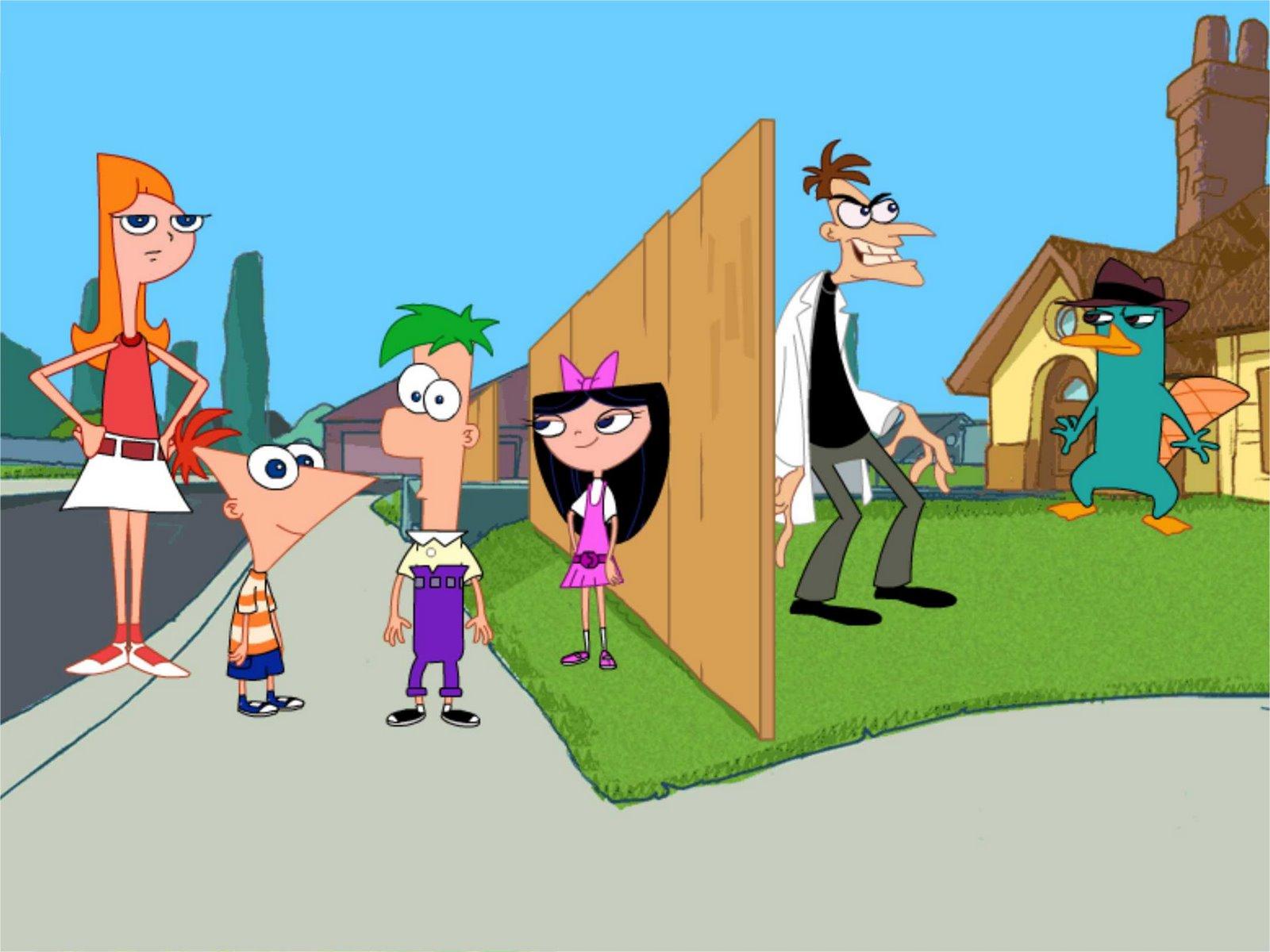 Phineas y Ferb A Través de la segunda Dimensión